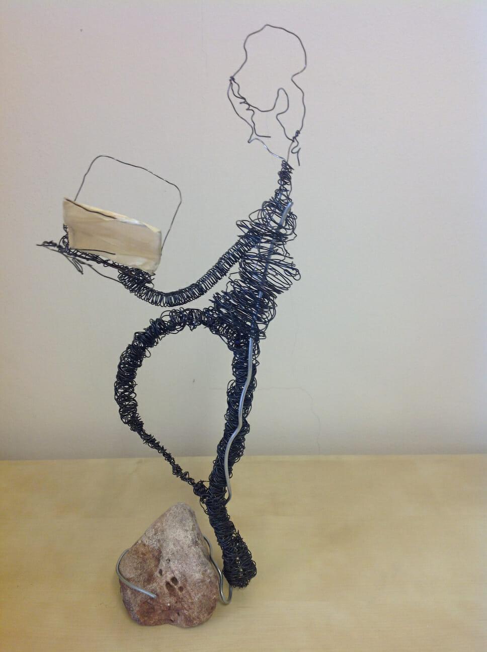 Ungewöhnlich Draht Kunst Skulptur Idee Ideen - Schaltplan Serie ...